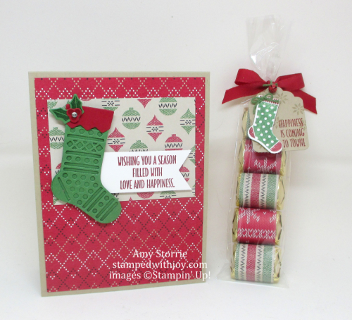 Hang Your Stocking card & treat