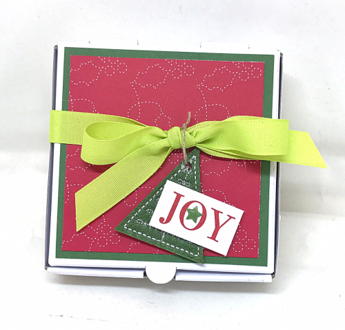 Mini Quilted Christmas cards