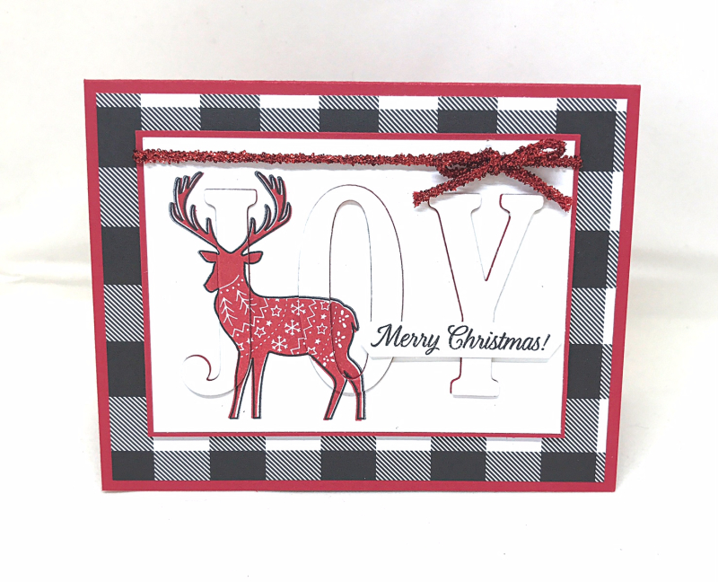 Merry Patterns deer
