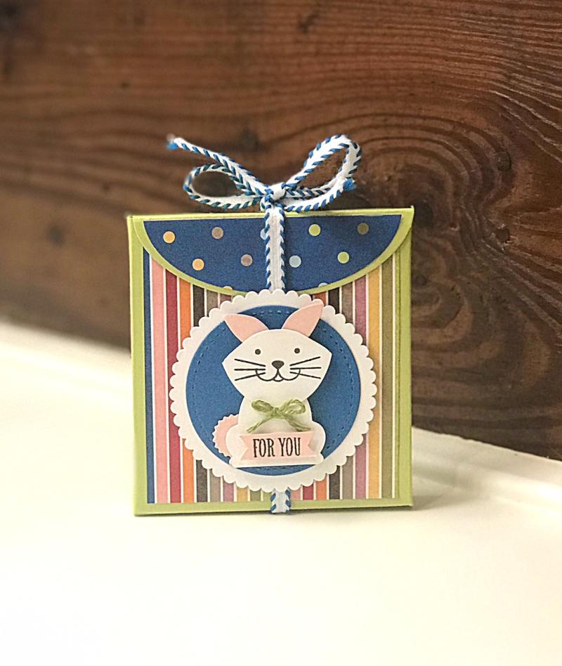 Foxy Friends bunny treat box