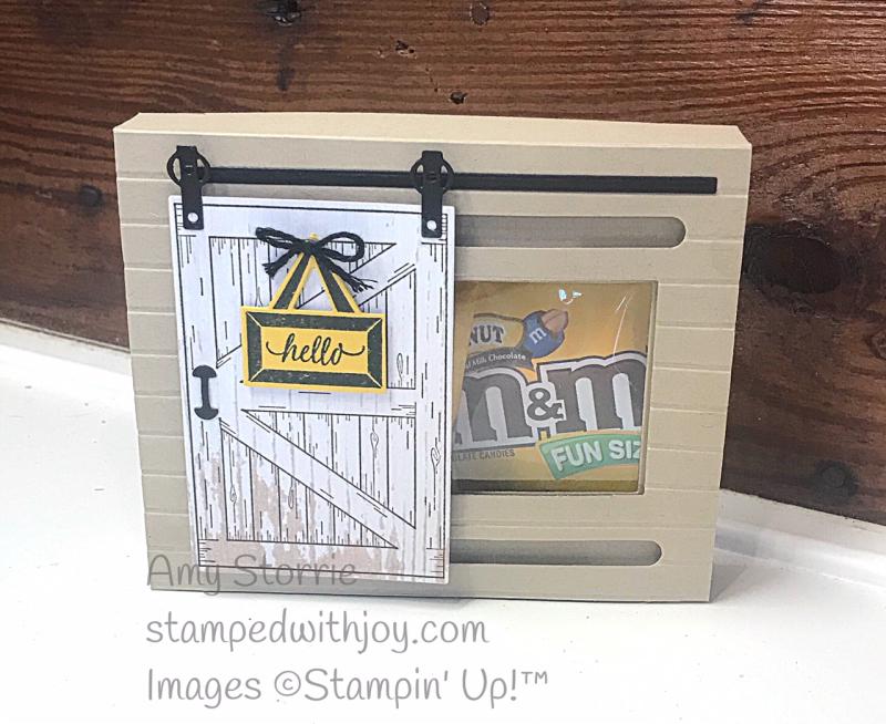 Barn Door box inside