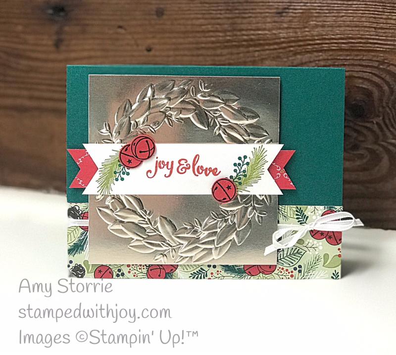 Mistletoe Season wreath