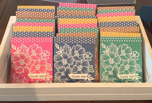 Blossoms in Bloom notepads